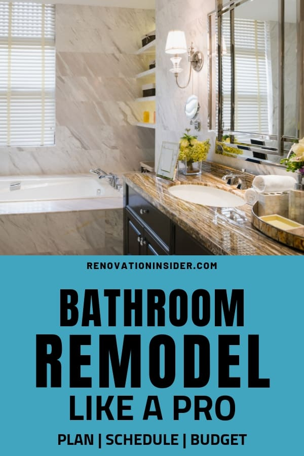 Bathroom Remodel Like A Pro