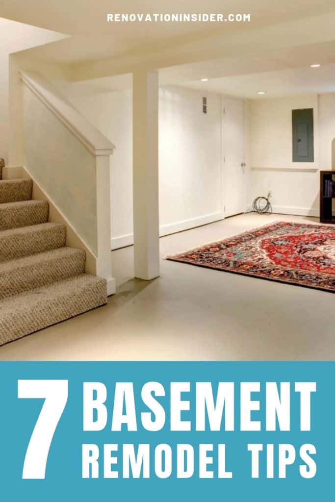The only remodel tips you'll need to successfully renovate your basement.